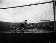 30/03/1960<br /> 03/30/1960<br /> 30 March 1960<br /> Soccer International: Ireland v Chile at Dalymount Park Dublin.