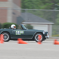 Paul Morro competes in Disorderly Coneduct Autox at Blackwater Sunday July 27, 2014 on the North Campus of Cape Fear Community College in Castle Hayne, N.C. (Jason A. Frizzelle)