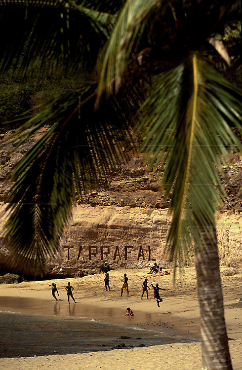 Tarrafal beach is the most touristical place in Santiago island and there ae projects to build hotels around it.