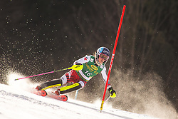 Chiara Mair (AUT) during the Ladies' Slalom at 56th Golden Fox event at Audi FIS Ski World Cup 2019/20, on February 16, 2020 in Podkoren, Kranjska Gora, Slovenia. Photo by Matic Ritonja / Sportida