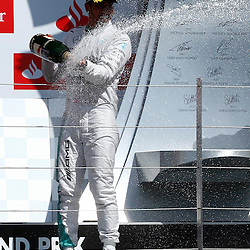 FORMULA 1 SANTANDER BRITISH GRAND PRIX .. Lewis Hamilton winner of the British GP...(c) STEPHEN LAWSON | SportPix.org.uk