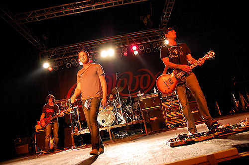 Candlebox concert at Concrete Street Amphitheater in Corpus Christi, Texas.