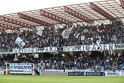 """Foto Filippo Rubin<br /> 21/10/2017 Cesena (Italia)<br /> Sport Calcio<br /> Cesena vs Fogga - Campionato di calcio Serie B ConTe.it 2017/2018 - Stadio """"Orogel Stadium""""<br /> Nella foto: I TIFOSI DEL CESENA<br /> <br /> Photo Filippo Rubin<br /> October 21, 2017 Cesena (Italy)<br /> Sport Soccer<br /> Cesena vs Foggia - Italian Football Championship League B ConTe.it 2017/2018 - """"Orogel Stadium"""" Stadium <br /> In the pic: CESENA SUPPORTERS"""
