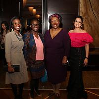Evita Caldwell, Yemi Akande-Bartsch, Barbara Washington, Lourdes Bailon