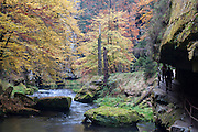 Kamnitzklamm, Hrensko, Böhmische Schweiz, Elbsandsteingebirge, Böhmen, Tschechische Republik | Kamnitz Gorge, Hrensko, Bohemian Switzerland, Elbe Sandstone Mountains, Bohemia, Czech Republic