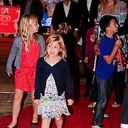 NLD/Amstelveen/20110921 - Premiere Fantasia de Musical, Prinses Maxima en kinderen Catharina-Amalia, Prinses Alexia