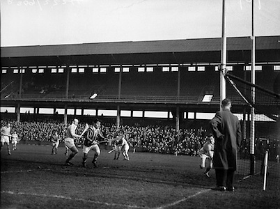 Interprovincial Railway Cup Hurling Semi-Final, .Ulster v Leinster, .21.02.1960, 02.21.1960, 21st February 1960,