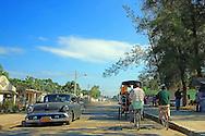 Street in Cruces, Cienfuegos Province, Cuba.