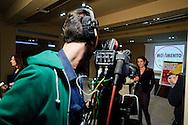 Roma 26 Febbraio 2013.Il MoVimento 5 Stelle presenta alla stampa  Carla Ruocco, eletta alla Camera dei  Deputati..