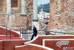 26.05.2017, Taormina, ITA, 43. G7 Gipfel in Taormina, im Bild Italiens Premierminister Paolo Gentiloni // Italy's Prime Minister Paolo Gentiloni during the 43rd G7 summit in Taormina, Italy on 2017/05/26. EXPA Pictures © 2017, PhotoCredit: EXPA/ Johann Groder