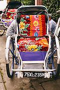 Cyclo in Hue, Vietnam