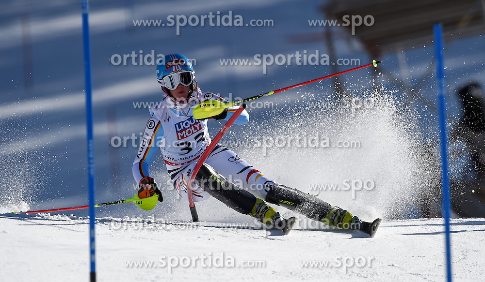 14.02.2015, Birds of Prey, Beaver Creek, USA, FIS Weltmeisterschaften Ski Alpin, Vail Beaver Creek 2015, Damen, Slalom, 2. Durchgang, im Bild Maren Wiesler (GER) // Maren Wiesler of Germany in action during 2nd run of the ladie's Slalom of FIS Ski World Championships 2015 at the Birds of Prey in Beaver Creek, United States on 2015/02/14. EXPA Pictures © 2015, PhotoCredit: EXPA/ Jonas Ericson
