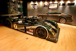 UK ENGLAND CREWE 5APR06 - Bentley Le Mans racing car in full racing trim on exhibition at the Bentley Museum on the premises of the Bentley Motors Factory in Crewe...jre/Photo by Jiri Rezac..© Jiri Rezac 2006..Contact: +44 (0) 7050 110 417.Mobile:  +44 (0) 7801 337 683.Office:  +44 (0) 20 8968 9635..Email:   jiri@jirirezac.com.Web:    www.jirirezac.com..© All images Jiri Rezac 2006 - All rights reserved.