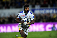 Noa NAKAITACI - 14.12.2014 -  Clermont / Munster  - European Champions Cup <br /> Photo : Jean Paul Thomas / Icon Sport
