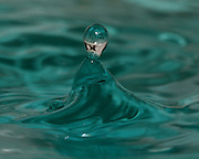 Image of a water droplet