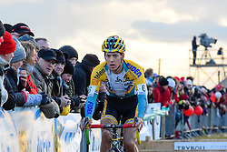 Tom Meeusen (BEL), Men Elite, Cyclo-cross Superprestige #8 Middelkerke, Belgium, 14 February 2015, Photo by Paul Burgoine / PelotonPhotos.com