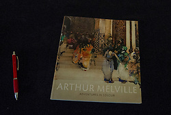 Arthur Melville: Adventures in Colour exhibition goes on display at the Scottish National Gallery. Melville (1855-1904) was one of the finest British watercolour painters of the Victorian - and indeed any - era. The audacity and drama of his compositions, his original, highly persoanl technique, and above all, his ability to evoke colour and light with the brilliance of stained-glass, mark him as a painter of outstanding talent.<br /> © Ger Harley/ StockPix.eu 8 October 2015