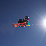 Kazuumi Fujita, Japan, in action during the Men's Half Pipe Finals in the LG Snowboard FIS World Cup, during the Winter Games at Cardrona, Wanaka, New Zealand, 28th August 2011. Photo Tim Clayton...