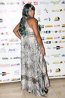 Amanda Foster (only British elite black stunt woman), Screen Nation Film & Television Awards, Park Plaza Riverbank Hotel, London UK, 23 February 2014, Photo by Vickie Flores.