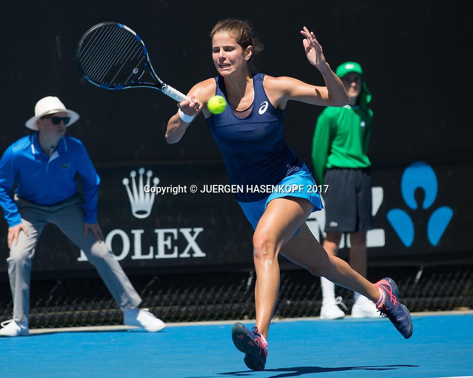 JULIA GOERGES (GER) <br /> <br /> Australian Open 2017 -  Melbourne  Park - Melbourne - Victoria - Australia  - 16/01/2017.