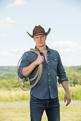 hot young cowboy on a ranch