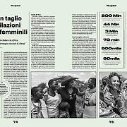 Published in VITA magazine, Italy, February 2019