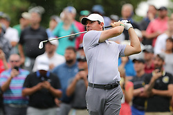 May 30, 2019 - Dublin, OH, U.S. - DUBLIN, OH - MAY 30: Rory McIlroy of Northern Ireland watches a tee shot during the first round of The Memorial Tournament on May 30th 2019  at Muirfield Village Golf Club in Dublin, OH. (Photo by Ian Johnson/Icon Sportswire) (Credit Image: © Ian Johnson/Icon SMI via ZUMA Press)