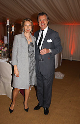ARNAUD & CARLA BAMBERGER at the annual Chelsea Flower Show dinner hosted by jewellers Cartier at the Chelsea Pysic Garden, London on 22nd May 2006.<br /><br />NON EXCLUSIVE - WORLD RIGHTS