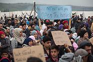 Refugee hunger strike, Nea Kavala