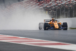 March 1, 2018 - Barcelona, Spain - VANDOORNE Stoffel (bel), McLaren Renault MCL33, action during Formula 1 winter tests 2018 at Barcelona, Spain from February 26 to March 01 - Photo Florent Gooden / DPPI  (Credit Image: © Hoch Zwei via ZUMA Wire)