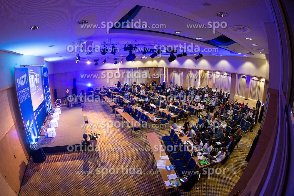 Ranko Vucinic of PRiredba studio and KHL Medvescak Zagreb during sports marketing and sponsorship conference Sporto 2012, on November 26, 2012 in Hotel Slovenija, Congress centre, Portoroz / Portorose, Slovenia. (Photo By Vid Ponikvar / Sportida.com)