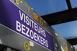 Visitors turnstiles outside the Vanden Stockstadion  - Photo mandatory by-line: Dougie Allward/JMP - Mobile: 07966 386802 - 22/10/2014 - SPORT - Football - Anderlecht - Constant Vanden Stockstadion - R.S.C. Anderlecht v Arsenal - UEFA Champions League - Group D