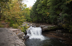 Bartlett Falls on Haven Creek (VT 17), West Lincoln, Vermont.