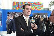 BARI 11.04.2010<br /> PIAZZA FERRARESE-SALA MURAT<br /> CONFERENZA STAMPA DI PRESENTAZIONE DEGLI INCONTRI<br /> DI QUALIFICAZIONE AI CAMPIONATI EUROPEI 2011<br /> NELLA FOTO IL COACH DELLA NAZIONALE ITALIANA SIMONE PIANIGIANI