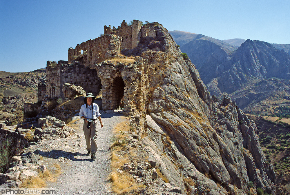 Yeni Kale (New Castle), is a Mameluke fortress from the 13th century AD, located at Kahta Kalesi village, near Eski Kahta (also called Kocahisar) village, near the city of Adiyaman. For licensing options, please inquire.
