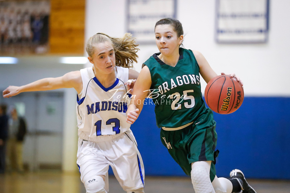 January 22, 2015.  <br /> MCHS Varsity Girls Basketball vs William Monroe.