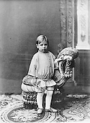 Igor Stravinsky, 1882-1971, Russian composer, pianist and conductor, at the age of 5, photograph, 1887. Copyright © Collection Particuliere Tropmi / Manuel Cohen