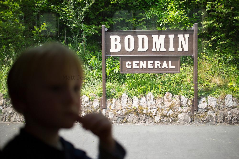 Bodmin platform