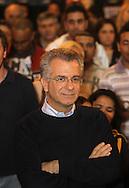 SAO PAULO - 06.08.2012. ANDREA MATARAZZO 45450. O candidato a vereador Andrea Matarazzo participa de encontro com apoiadoresno centro de São Paulo. São Paulo, Brasil, agosto 06, 2012. DANIEL GUIMARÃES