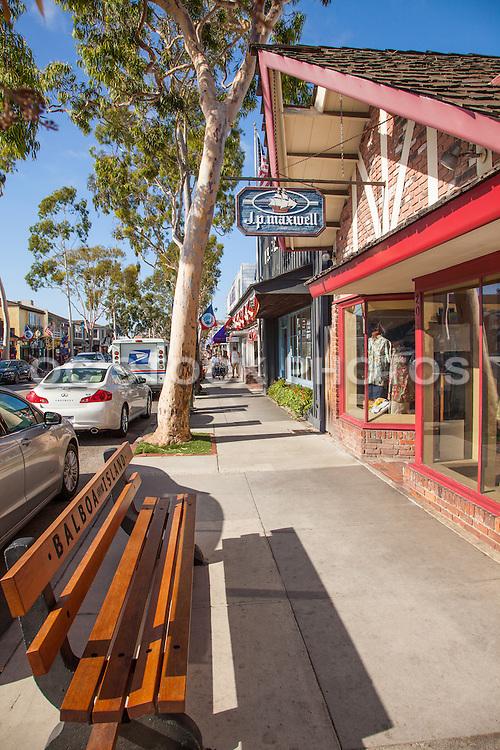 Downtown Balboa Island Newport Beach