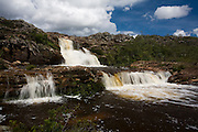 Diamantina_MG, Brasil...Cachoeira dos Cristais em Biribiri...The Cristais Waterfall in Biribiri...Foto: LEO DRUMOND / NITRO