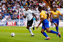 Cameron Jerome of Derby County chase the ball - Mandatory by-line: Ryan Crockett/JMP - 18/07/2018 - FOOTBALL - One Call Stadium - Mansfield, England - Mansfield Town v Derby County - Pre-season friendly