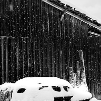 Taken in Morzine in heavy snow