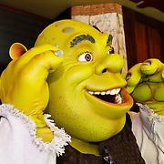 NLD/Amsterdam/20100627 - Inloop premiere Shrek 3D, Schrek monster