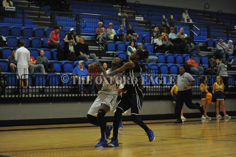 Oxford High vs. Saltillo in girls high school basketball in Oxford, Miss. on Monday, January 25, 2016. Oxford won.