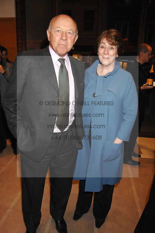 SIR JOHN & LADY TUSA at a reception to launch the 2007 Louis Vuitton Christmas windows in collaboration with Central Saint Martins College of Art & Design held at 17-18 New Bond Street, London W1 on 7th November 2007.<br /><br />NON EXCLUSIVE - WORLD RIGHTS