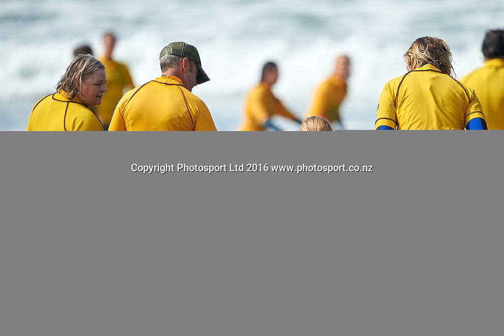 Flight Centre Foundation Halberg Surf Day, Lyall Bay, Wellington, New Zealand. Saturday 12 March 2016. Copyright Photo: Mark Tantrum/www.Photosport.co.nz
