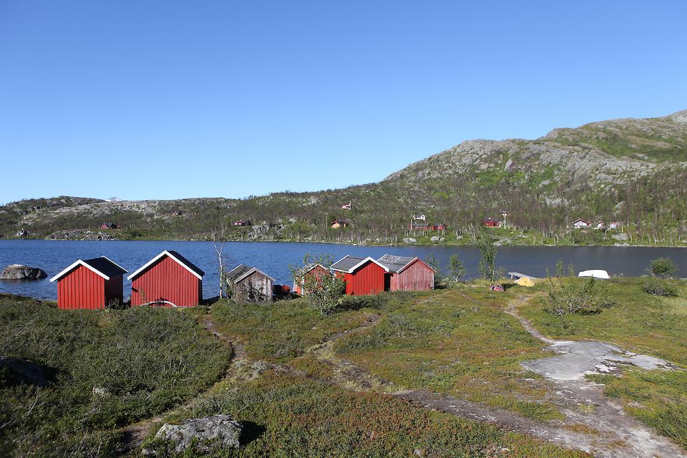 Ricksgransen, border between Norway and Sweden