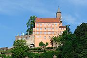 Schloss Hirschhorn, Hirschhorn, Neckar, Hessen, Deutschland | castle Hirschhorn, Hirschhorn, Neckar, Hessen, Germany