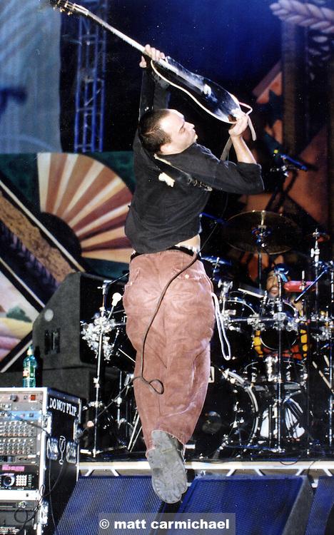 Dave Matthews performs live in Concert at Chicago's Tweeter Center.